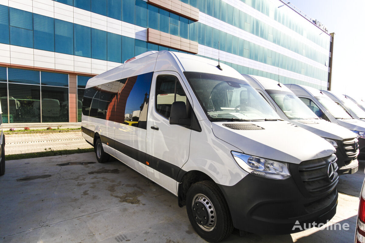 новый пассажирский микроавтобус MERCEDES-BENZ Sprinter IDILIS 519 AUTOMATIC,  *COC*  prolonged with 50cm fiber