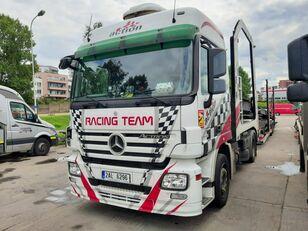 автовоз MERCEDES-BENZ Actros + Lohr + návěs na přepravu automobilů