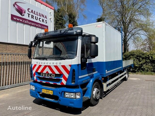 автовоз IVECO Eurocargo 120E18 Euro 6 transporter / materiaalwagen