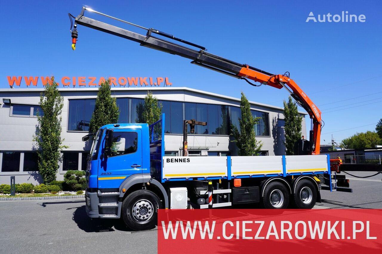 бортовой грузовик MERCEDES-BENZ Axor 2633