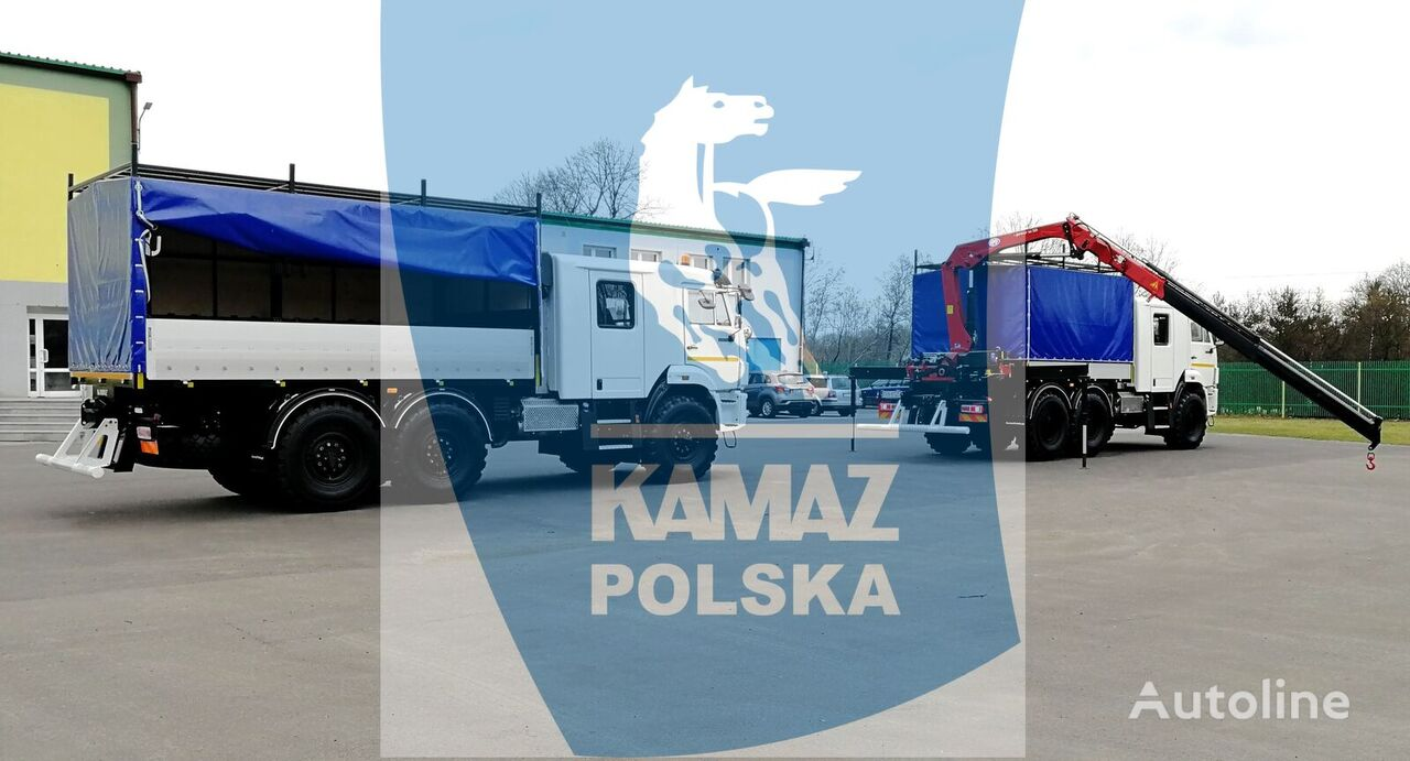 новый кунг КАМАЗ SERVICE CAR