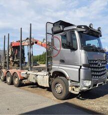 лесовоз MERCEDES-BENZ 3263 8x4, big axles, no crane