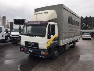 тентованный грузовик MAN 11.224 new motor