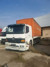 тентованный грузовик MERCEDES-BENZ Atego 1828 ladebordwand lift 760tis km
