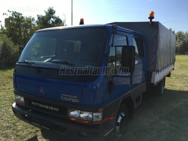 тентованный грузовик MITSUBISHI CANTER DOKA P+P 4m-es platóval