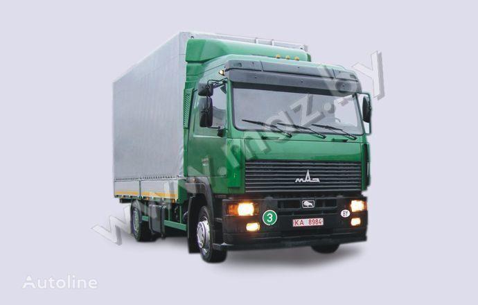 новый тентованный грузовик МАЗ 5340A8