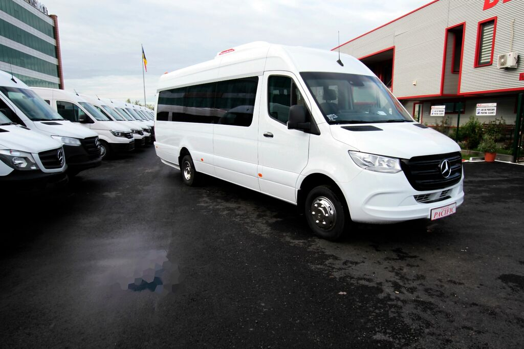 новый пассажирский микроавтобус MERCEDES-BENZ Sprinter IDILIS 519,  *COC*  prolonged with 50cm fiber/steel, ST