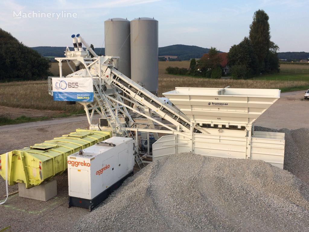 новый бетонный завод FRUMECAR EBA 1000 * 50 m³/h. *