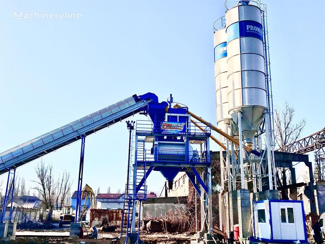 новый бетонный завод PROMAX STATIONARY Concrete Batching Plant PROMAX S130-TWN (130m/h)